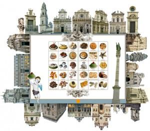 Lecce l- La ville-Èglise - in Quoquo. La gola come ipertesto -design Giancarlo Moscara©