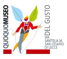 Il marchio del Quoquo Museo del Gusto disegnato da Giancarlo Moscara