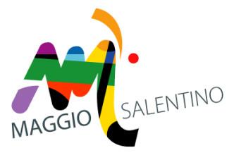 Marchio del Maggio Salentino disegnato da Giancarlo Moscara